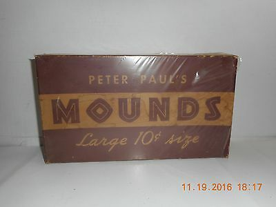 Vintage mounds candy bar box