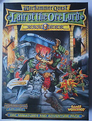 Games Workshop Age Of Sigmar Warhammer Quest Lair Of The Orc Lord Adventure Pack