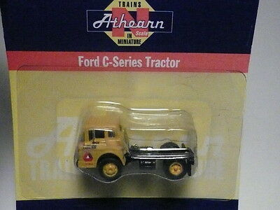 """Athearn """"N"""" Delta Lines Inc. Ford 'C' Tractor Goat (2 PHOTOS)- FAST SHIP!"""