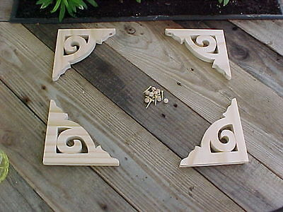 4 Victorian Screendoor brackets #4A by Victorianwoods