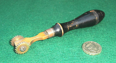 Vintage Brass Tool For Making Stitch Preparation Holes.