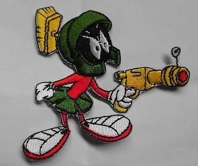 Marvin The Martian patch Embroidered Iron on 3 inch tall
