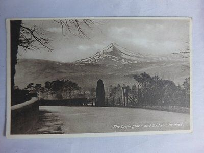 Vintage Postcard,The Druid Stone and Goat Fell,Brodick,Isle of Arran