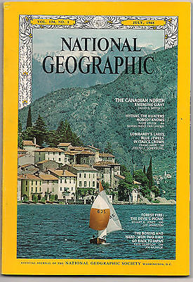 national geographic-JULY 1968-ITALIAN LAKES.