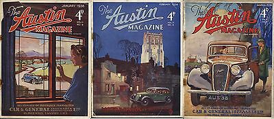 The Austin Magazine January/February/March 1938