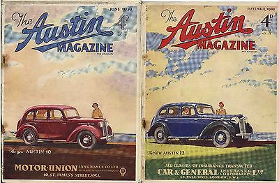 The Austin Magazine June & September 1939