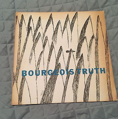 SIGNED - Bourgeois Truth - Louise Bourgeois - exhibit catalog-Robert Miller-1982