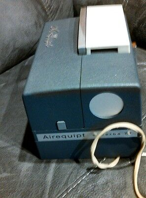 Vintage Airequipt Superba 77 slide projector in very good shape w/remote