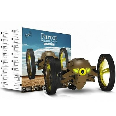 Parrot Jumping Sumo Wi-Fi Controlled Insectoid Robot With Camera (Khaki)