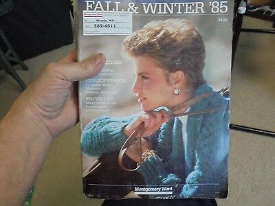 Vintage 1985 Montgomery Ward Fall and Winter Catalog