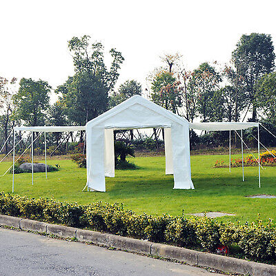 Ountsunny 6M x 3M Party Tent Portable Parking Garage Gazebo Waterproof Marquee