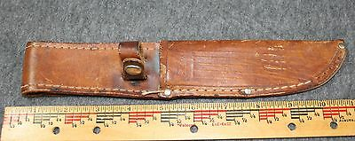 Case Leather Knife Sheath Only