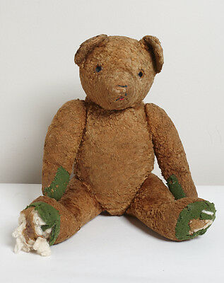 Vintage Antique Teddy Bear Jointed 1910