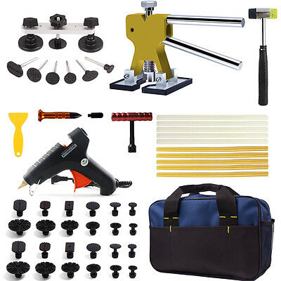 PDR Tools Paintless Dent Repair Removal Hail Slide Hammer Puller Lifter Box Kits