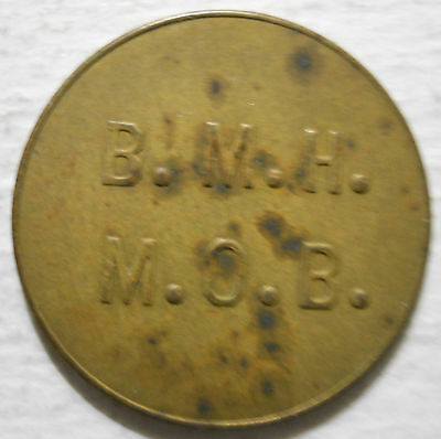Bryn Mawr Hospital (Pennsylvania) parking token - PA3136A