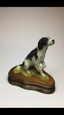 Wildtrack Limited Edition, Hand Painted Springer Spaniel (Black) Figurine