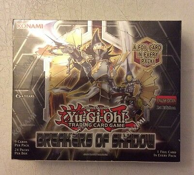 Yu-Gi-Oh Breakers Of Shadow Booster Box 1St Edition 24 Packs 9 Cards