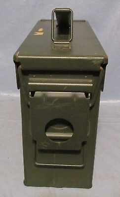 Small Military Army Cartridge Ammo Can Box Weather Tight Decor Crafts Steampunk