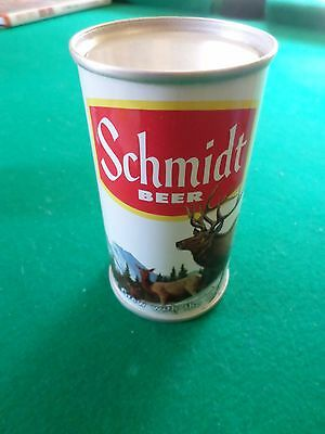 Rare Vintage Schmidt Test or Display Only Flat Top  Associated Beer Can