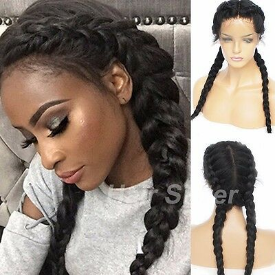 Brazilian Human Hair Lace Front Wig 100% Real Soft Full Lace Wigs Natural Wave #