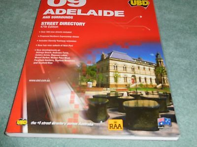 ADELAIDE and Surrounds UBD Street Directory