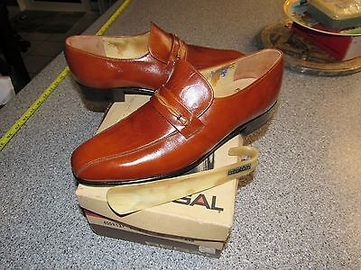 Nib Vintage Mens Regal Westwood Dress Shoes Size 8.5 B With Shoehorn