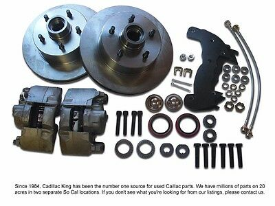 1965 1966 1967 1968 65 66 67 68 Cadillac Front Disc Brake Conversion Kit New T