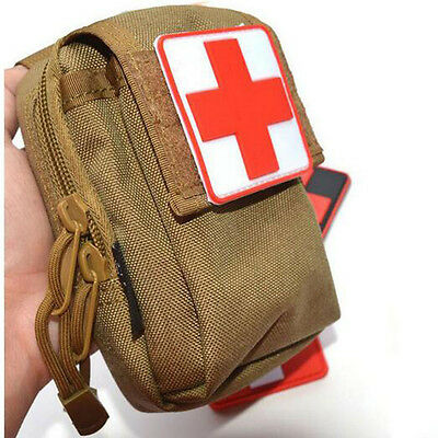 Medical Rescue Of Rot Kreuz Abzeichen Patches Badges Clothes Bag Klettverschluss