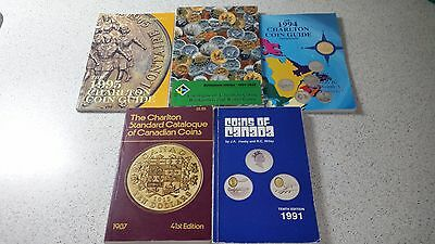 Charlton Guides And Coin Books Lot - 5 Books