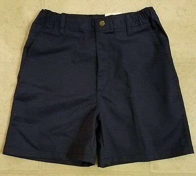 Vintage BSA Boy Scout Uniform Shorts Blue Youth Waist 28 UNION MADE IN THE USA