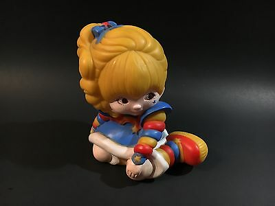 Vintage Rainbow Brite Coin Bank by Hallmark Cards 1983.  Made in Taiwan