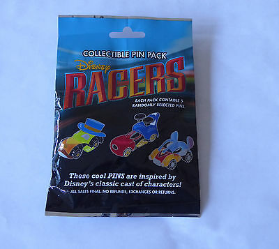 Disney Trading Pins 119600 Disney Racers Mystery Pin Pack