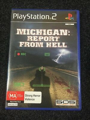 Michigan: Report From Hell (Sony PlayStation 2, 2005)Rare