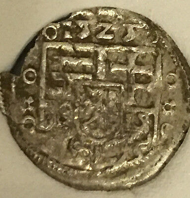 1525 AD   LOUIS II  ++MEDIEVAL SILVER COIN + Hungary