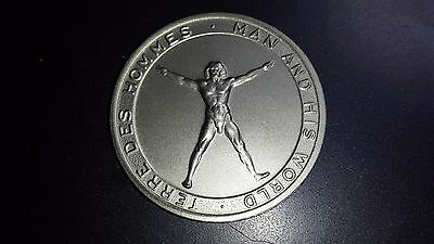 1967 Montreal Expo 67 Commemorative Medal - Man And His World
