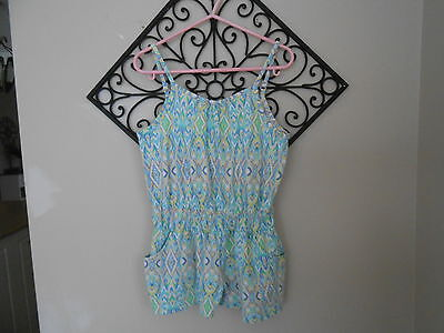 """""""pumpkin Patch"""" Brand Girls Playsuit Size 7Years(5-6Years)"""