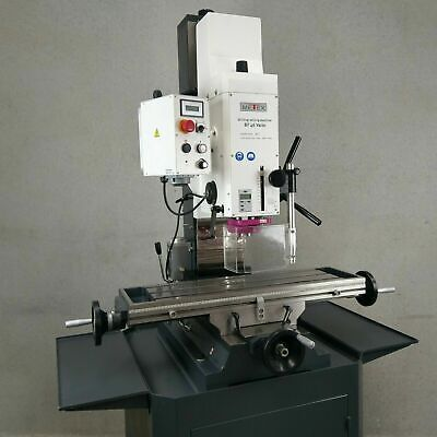 BF46 Milling Machine Metex Opti Brushless 2.2kw Geared Head Variable Speed Mill