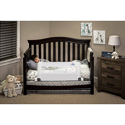 Baby Safe Crib Bed Rail Safety Sleeper Net Guard Toddler Bedrail Side Wall Sleep