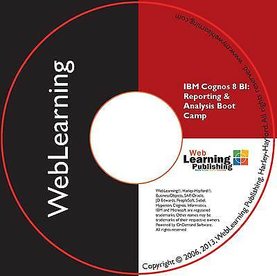 IBM Cognos 8/10 BI:Advanced Reporting and Analysis Boot Camp Self-Study CBT