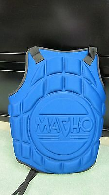 Karate Chest Guard  Macho Martial Arts- Child Size (one size fits most0