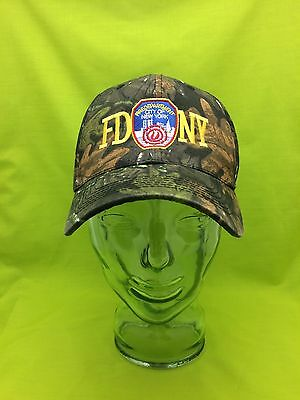 NEW Embroidered FDNY 9/11 Memorial New York Fire Camo Green Hat Cap Hunting
