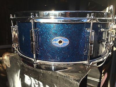 Leedy Blue Sparkle Snare Drum Dec '63/ Slingerland