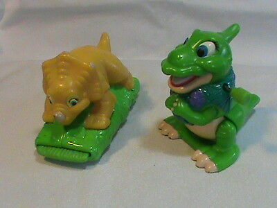 Land Before Time Cera and Ducky Burger King 1997