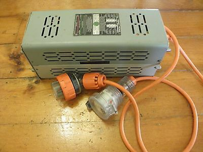 3 Phase Variac with 20a plug and socket