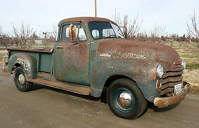1953 Chevrolet Other Pickups DeLuxe 1953 Chevrolet Pickup, California Truck, 3/4 Ton, Long Bed, 1949,1950,1951,1952