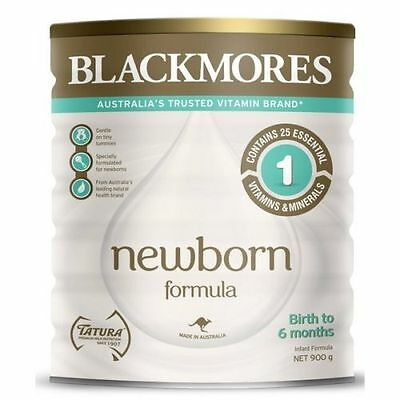 Blackmores Newborn Baby (0-6 months) Formula, Box of 6 x 900g cans, RRP $180