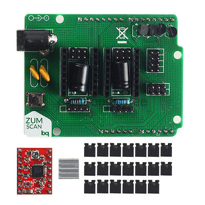Scan Shield Expansion Board /w A4988 Driver Board Kits for 3D Printer Ciclop
