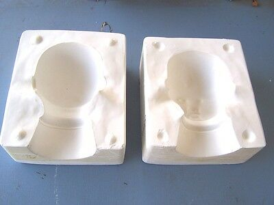 Ceramic Doll Mold for Baby Head marked Seely Baby Gloria S-209