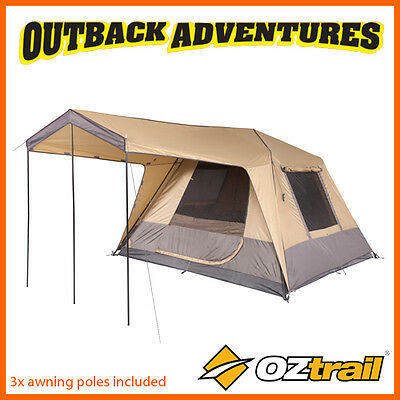 Oztrail Fast Frame Tourer 300 Instant Up Quick Pitch 6 Person Tent New2016 Model