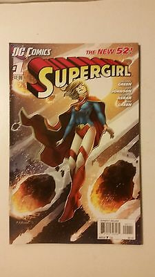 SUPERGIRL #1 First Print 2011 series DC NEW 52